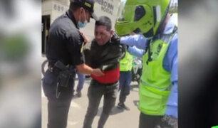 Delincuente que asaltó a vecina de Campoy fue detenido en la Molina