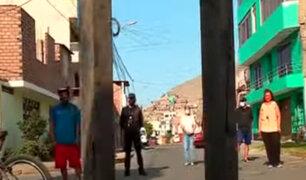 Los Olivos: vecinos son denunciados ante municipio por reja que permanece cerrada