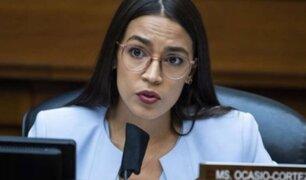 EEUU: congresista demócrata Ocasio-Cortez revela que fue agredida sexualmente
