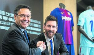 Messi iniciará querella contra Bartomeu y cuatro dirigentes del Barza