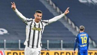 Imparable: Juventus venció 2-1 al Inter con doblete de CR7