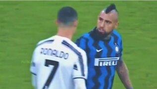 CR7 vs el 'Rey': así fue el encontronazo de Cristiano y Vidal