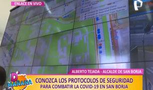 D'mañana en San Borja: monitorean casos de covid-19 mediante Observatorio Municipal