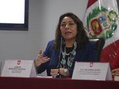 """Premier Bermúdez: """"primer lote de vacunas será para cuidar a quienes nos cuidan"""""""