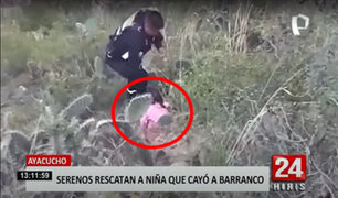 Llanto desesperado de niña ayudó a ubicarla al fondo de un barranco de 300 mtrs.