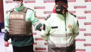 Falso policía exigía dinero a transportistas para no sancionarlos en Junín