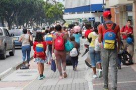 Colombia pide ayuda internacional para vacunar a ciudadanos venezolanos indocumentados