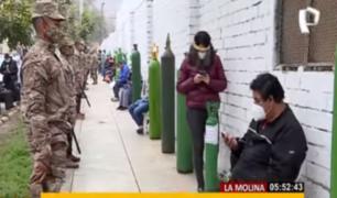 Planta de oxígeno gratuito de La Molina colapsó su capacidad
