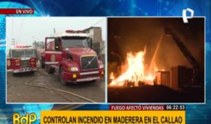 Callao: madre de tres niños pide ayuda tras perder todo por incendio de almacén
