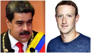 """Maduro califica de """"abusador"""" a  Mark Zuckerberg por censura a fármaco sin aval"""