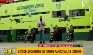 Grupo Coto: Escuadrón Verde utiliza modernos drones para monitorear y capturar ladrones