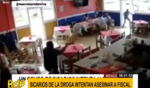 México: sicarios atacan con armas de guerra a una fiscal