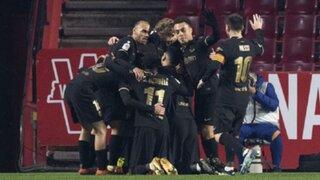 Con remontada épica: Barcelona venció 5-3 a Granada y pasó a semis de la Copa del Rey