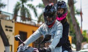Motociclistas opinan que ley que les impediría viajar con otro pasajero no dará fin a la inseguridad