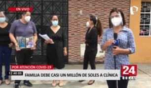 SMP: familia debe casi un millón de soles a clínica por error de aseguradora