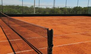 Surco: clausuran academias de tenis que funcionaban en plena cuarentena
