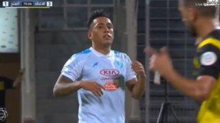 Días y noches de Arabia: Cueva debuta con derrota y Carrillo anota su cuarto gol de la temporada