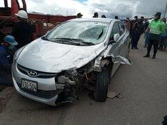 Comerciante de quesos muere en violento accidente de tránsito en Puno