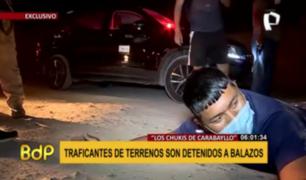 'Los Chukis de Carabayllo': traficantes de terrenos son detenidos a balazos