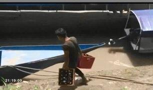 Junín: ambulancia pluvial fue usada para trasladar cerveza