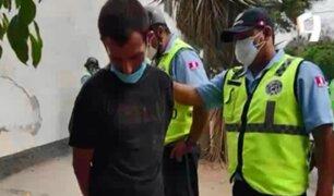 Surco: capturan a extranjero que escupió a serenos