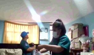 SJL: falso médico y su ayudante fueron intervenidos cuando atendían a paciente
