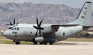 Covid-19: aviones de la FAP ya están preparados para trasladar las vacunas a todas regiones