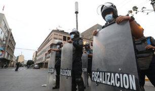 Cuarentena: reforzarán control en Mesa Redonda y el Mercado Central por aglomeraciones