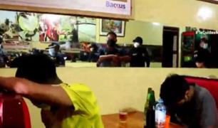 Santa Anita: intervienen bar clandestino e infractores son trasladados a centro de retención