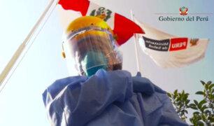 """""""Pongo el hombro"""": lanzan campaña para motivar a vacunarse contra la covid-19"""