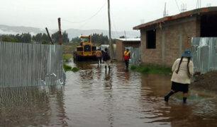 Junín: colapso de un canal de riego provocó la inundación de decenas de viviendas