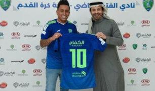 Christian Cueva en Al-Fateh: volante peruano debutó oficialmente en Liga Profesional Saudí
