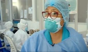 Enfermeras en primera línea contra la Covid-19