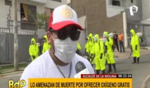 Alcalde de La Molina denuncia amenazas de muerte contra él y su familia
