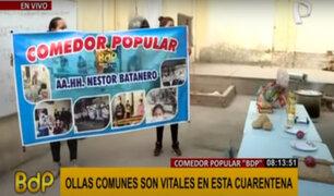 SJM: ofrecen ayuda a comedor popular tras llamado de Panamericana