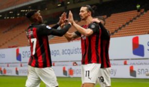 Ibrahimovic supera 500 goles en clubes con doblete en goleada al Crotone
