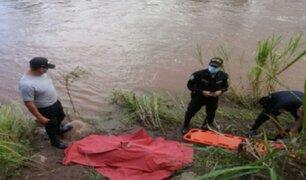 San Martín: madre de familia muere ahogada en río tras salvar a su hija