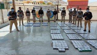 Encuentran más de 533 kilos de cocaína distribuida en Moquegua