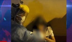 Mujer aparentemente con COVID-19 desaparece tras descuido de quienes la cuidaban en Ate
