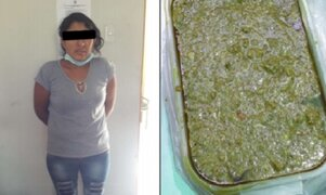 Cae mujer que intentó ingresar marihuana en táper de comida al penal