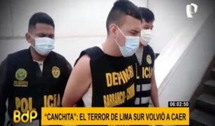 La caída del temible 'Canchita': delincuente sembraba el terror en Lima Sur