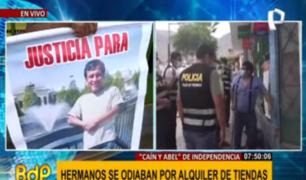 Independencia: vecinos denuncian amenazas tras crimen entre hermanos
