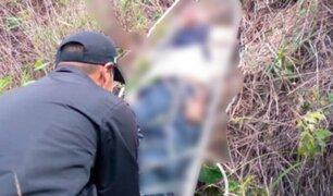 Anciano de casi 90 años muere tras caer a un abismo en Puno