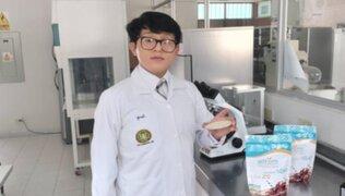 Junín: Joven crea un poderoso batido contra la anemia
