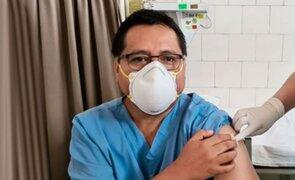 Intensivista Jesús Valverde tras recibir la vacuna: La familia ha sufrido mucho