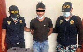 Ternas capturan a extranjero cuando intentaba vender laptops robadas