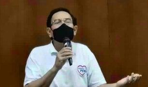 Vizcarra niega copia de plan de gobierno del aspirante a la presidencia por Podemos Perú