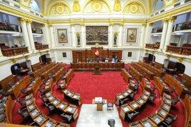 Pleno del Congreso debate hoy creación de Comisión Investigadora