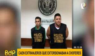 Cae banda 'Los llaneros del este' dedicada al robo de vehículos y extorsión