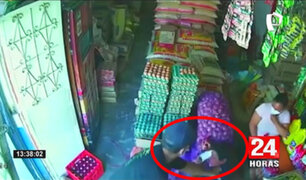 Jaén: roban tienda de abarrotes y se llevan 6 mil soles